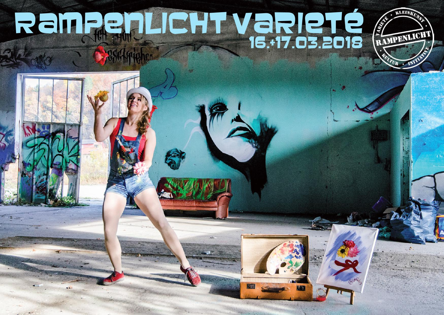 Rampenlicht Varieté – Circus ARTS – 16.03. + 17.03.2018
