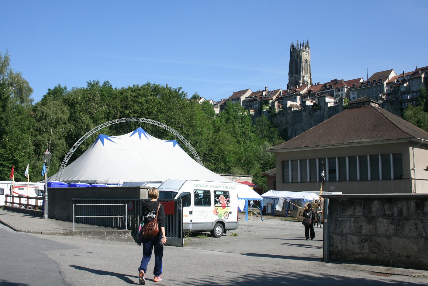 Salto in Fribourg