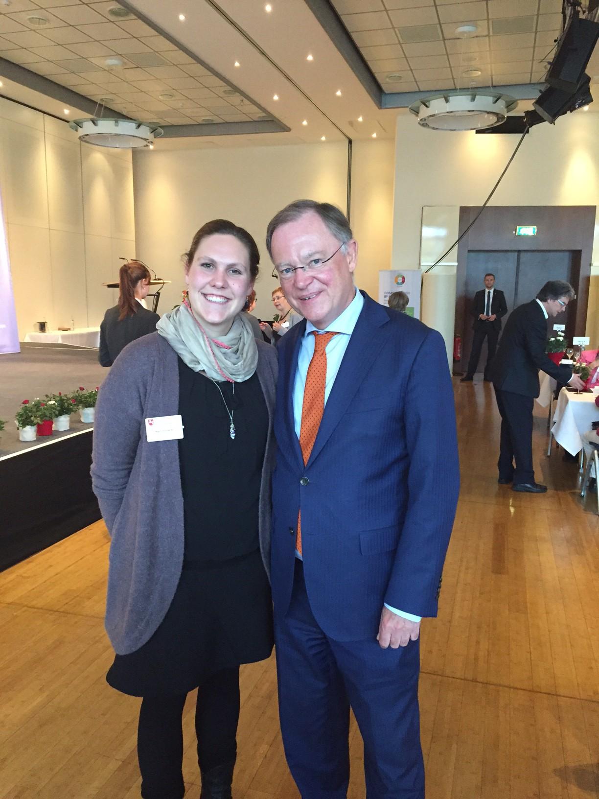 Anja Schirrmacher erhält den Ehrenamtspreis des Landes Niedersachsen