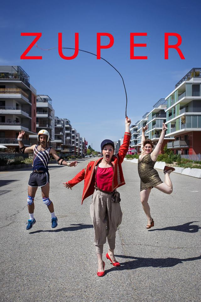 ZUPER – a bizarre mix of circus & clown performance (Italy) 12.08.